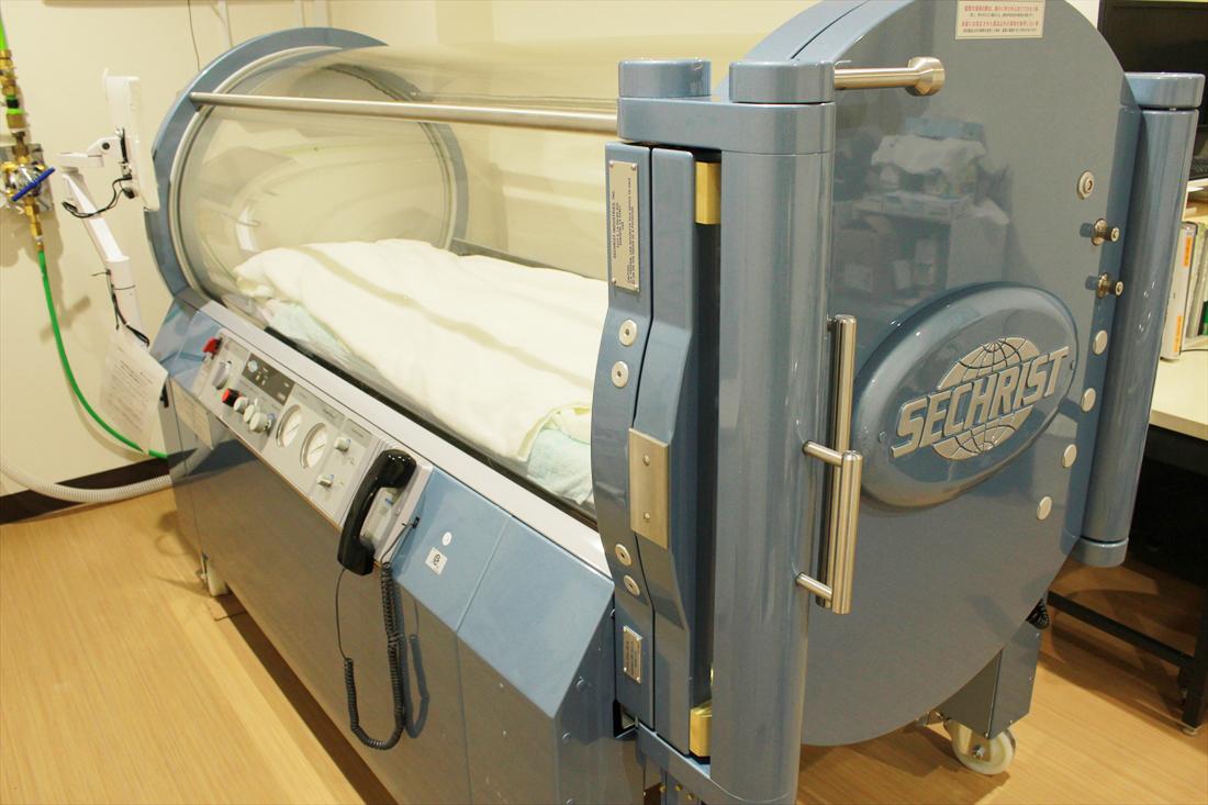 高気圧酸素療法業務(第1種高気圧酸素治療装置)